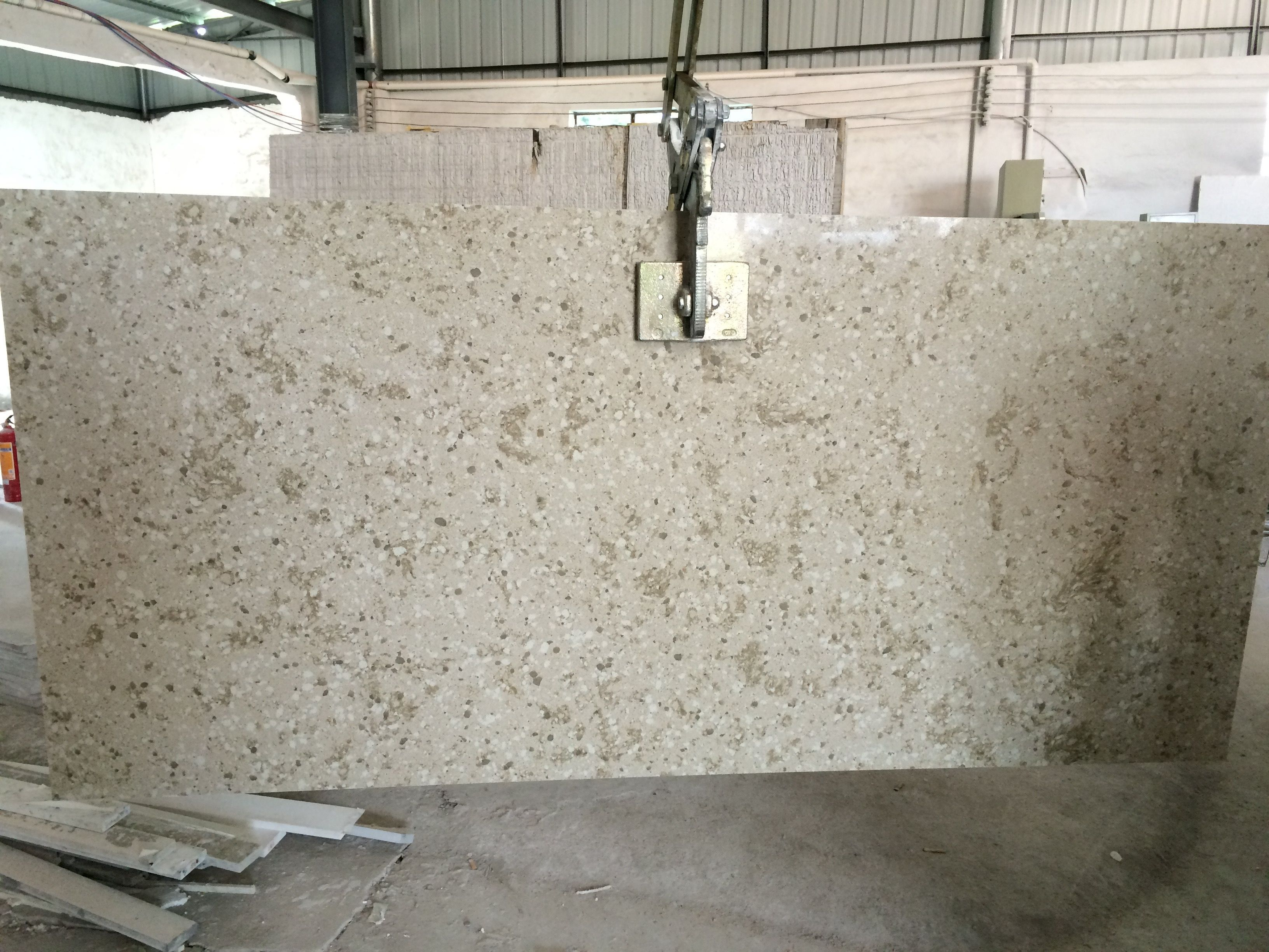 Artificial Stone With Images Quartz Slab Artificial Stone