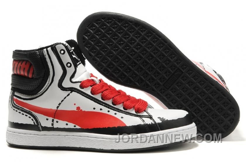 5434a51459d Puma First Round RP Sneakers WhiteRed Top Deals