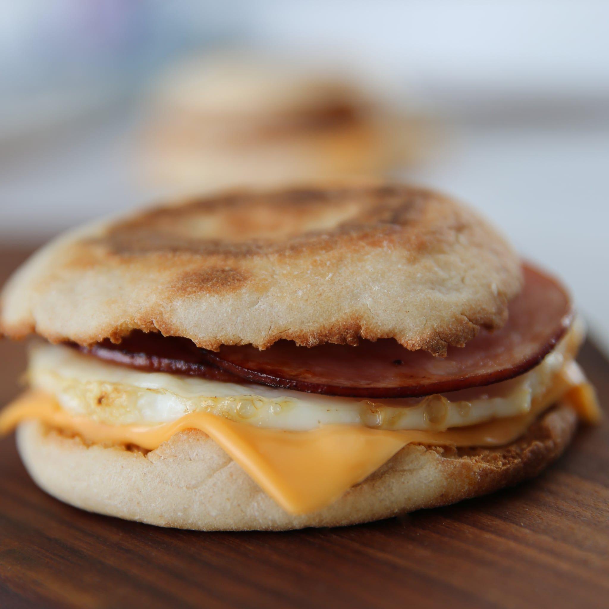 McDonald's Egg McMuffin Mcdonalds egg mcmuffin, Food