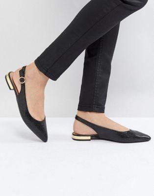 Zapatos con tira atrás de charol de Head Over Heels by Dune HKUErJ