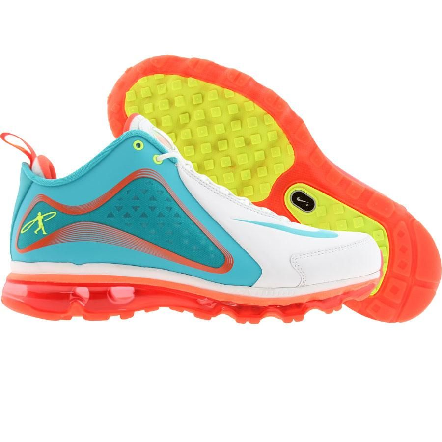 quality design c8d78 8a817 Nike Men Air Griffey Max 360 (white   bright turquoise   crimson   volt)  538408-103 -  169.99