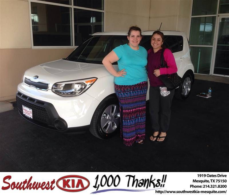 #HappyAnniversary to Jorge Jaimes on your 2014 #Kia #Soul from Clinton Miller at Southwest Kia Mesquite!
