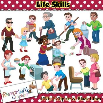Life Skills Clip art | Life skills, Clip art, Children images