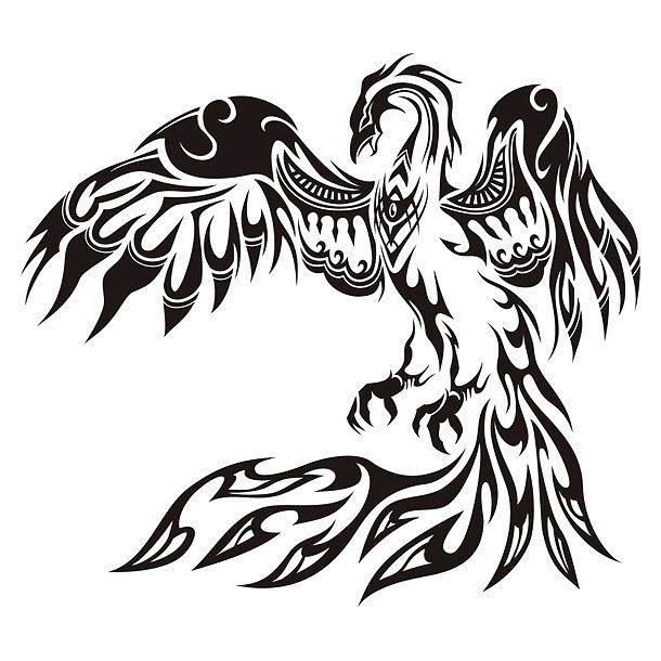 Best Tribal Phoenix Tattoo Design Phoenix Tattoo Tribal Phoenix Tattoo Phoenix Tattoo Design