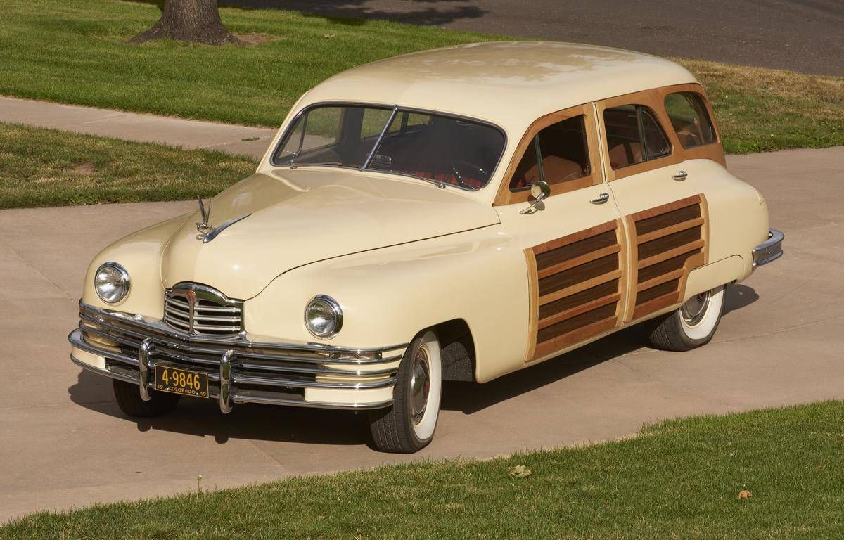 1949 packard woodie station wagon
