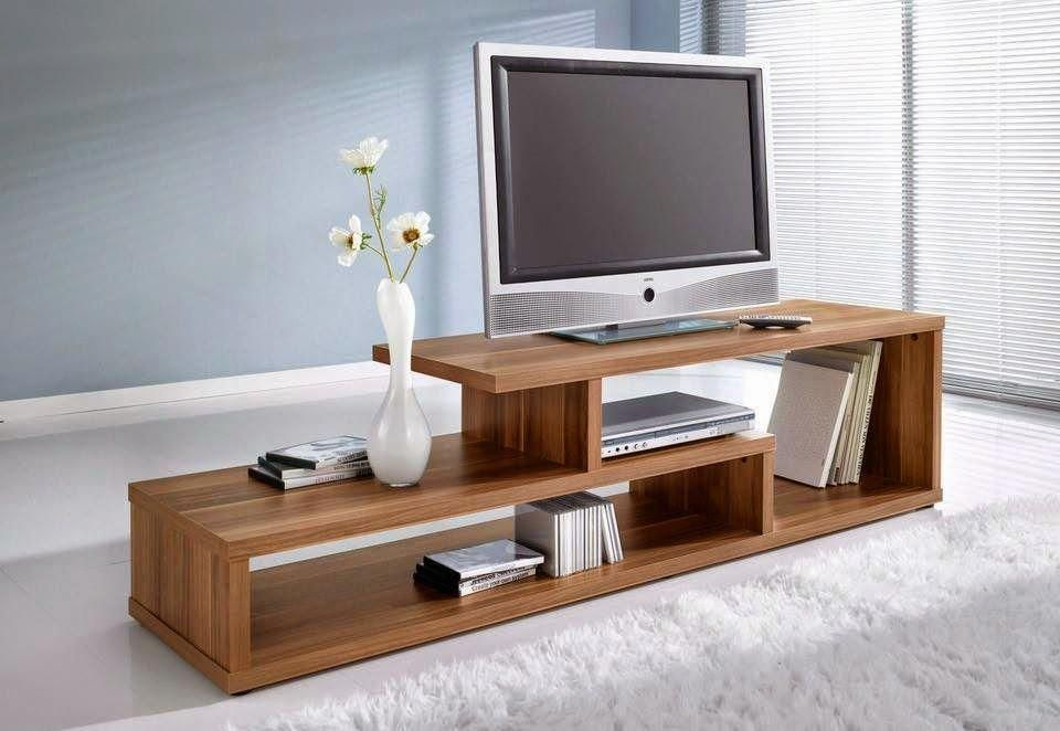 How To Build a Modern Plywood Media Console // DIY Media