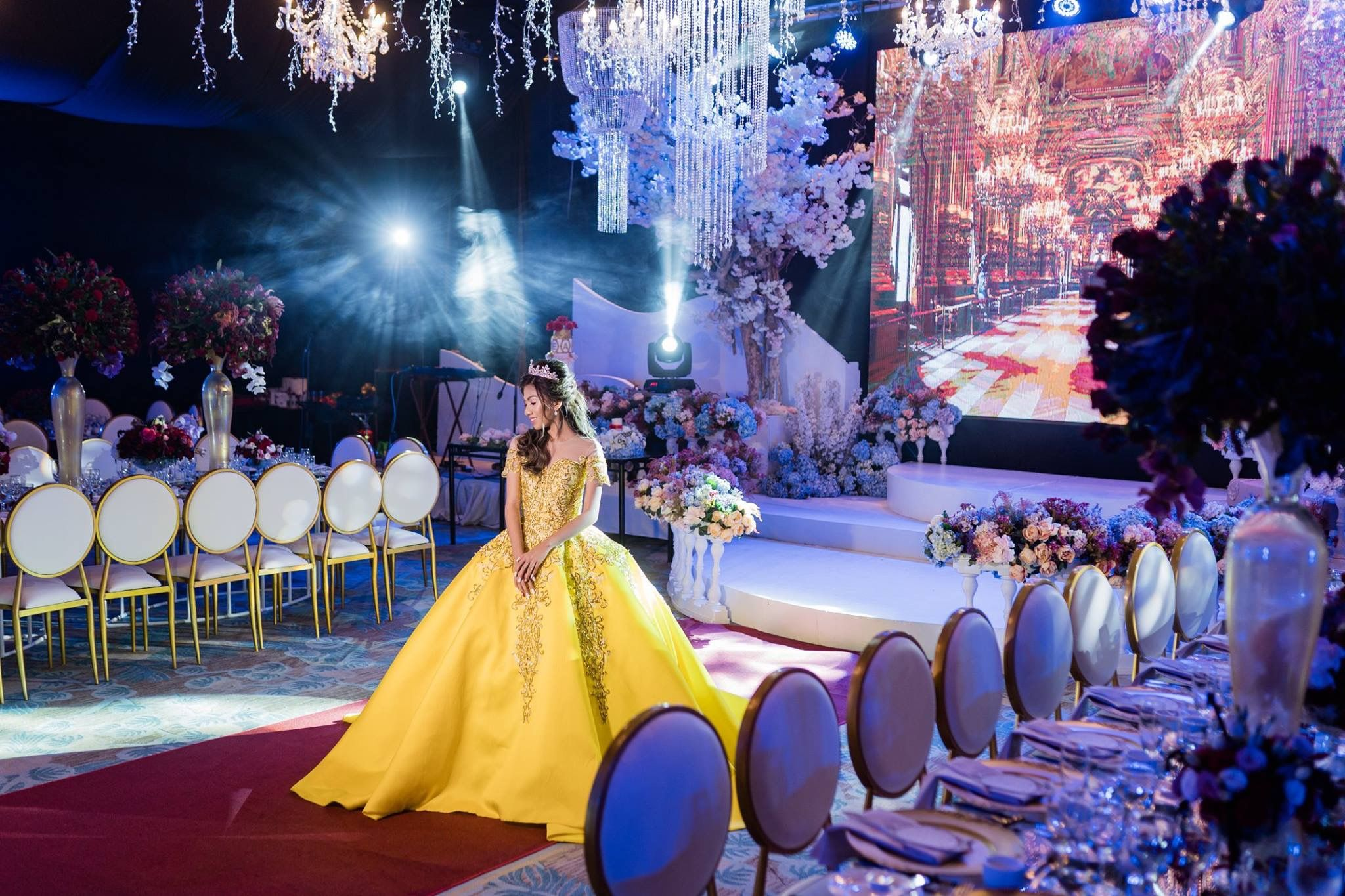 Beauty And The Beast Themed Debut Party Beaxviii Davaoevents