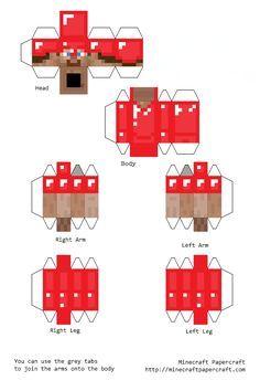 Minecraft Cutouts Steve With Diamond Armor Google Search Minecraft Crafts Minecraft Printables Minecraft Templates