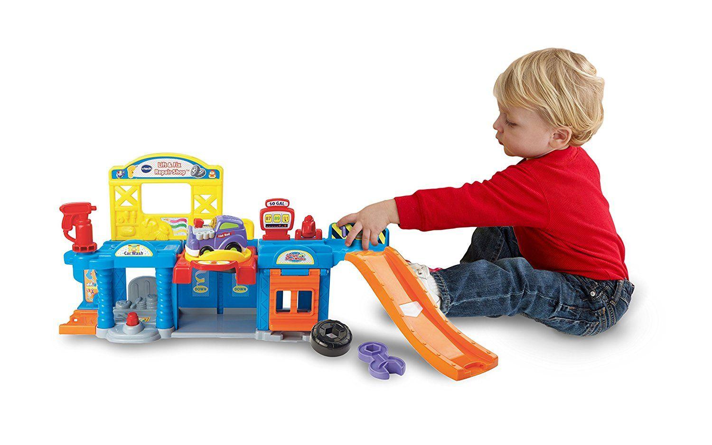 B toys car wheel  VTech Go Go Smart Wheels Auto Repair Center Playset Only