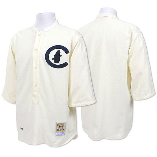 Chicago Cubs Authentic 1908 Home Jersey by Mitchell   Ness  6ae8c01b0e15