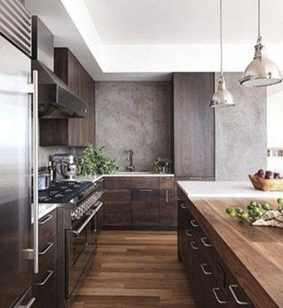 Industrie Stil Küchen, Rustikale Küchen, Luxusküchen, Moderne Küchen,  Traumküchen, Moderner Küchendekor, Moderne Küchengestaltung, Kaminsimse,  Küchenmöbel