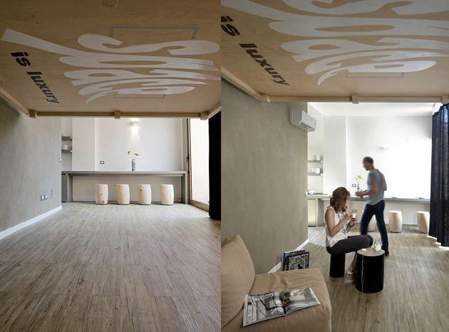 Platzsparende Raumlösung - Bett an die Decke hängen | Möbel ...