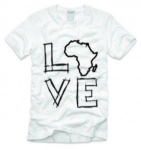 Love AFRICA Shirt | Hope For A Nation