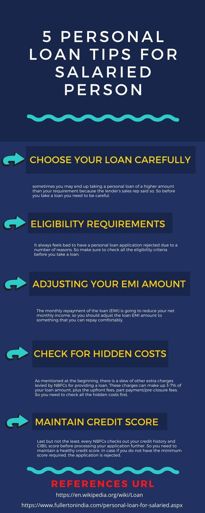 5 Personal Loan Tips For Salaried Person In 2020 Personal Loans Personal Loans Online Loan