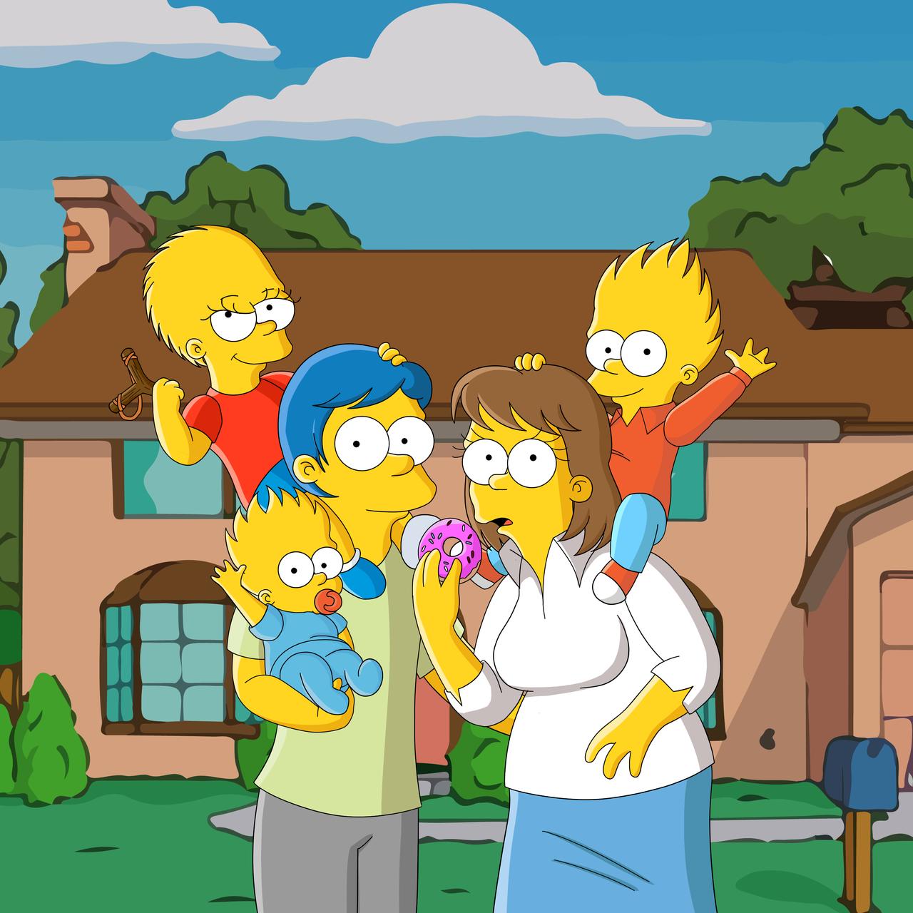 Genderbent Bart Simpson