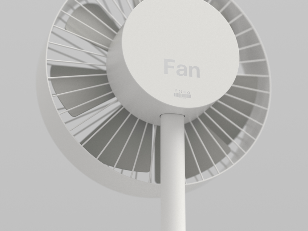 Fan On Behance Fan Electric Fan Electric House