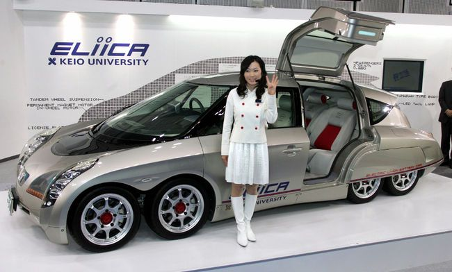 Japanese Electric Car Eliica