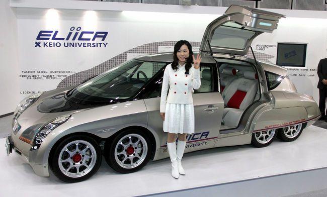 Eliica By Hiroshi Shmizu Japan Electric Car Concept