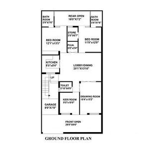 200 Sq Yard House Map House Map House Plans How To Plan