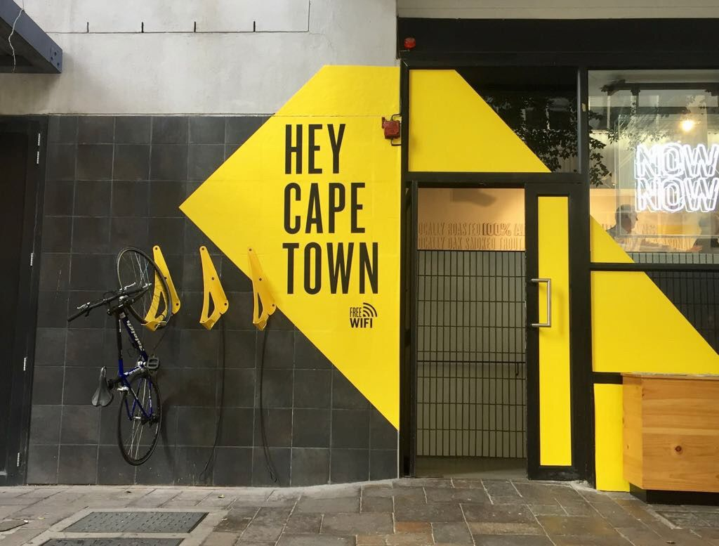 Hey Cape Town Bicycle Parking Coffee House My Coffee