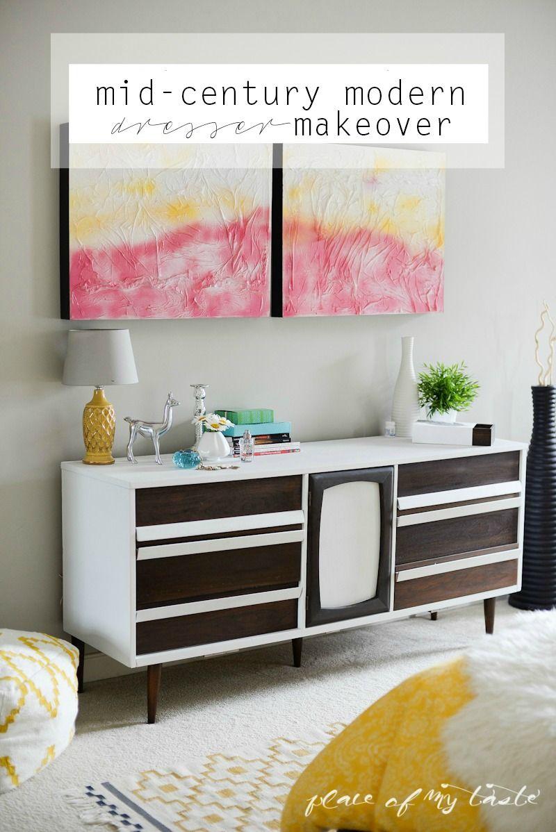 Best Mid Century Modern Dresser Makeover Diy Furniture Cheap 640 x 480