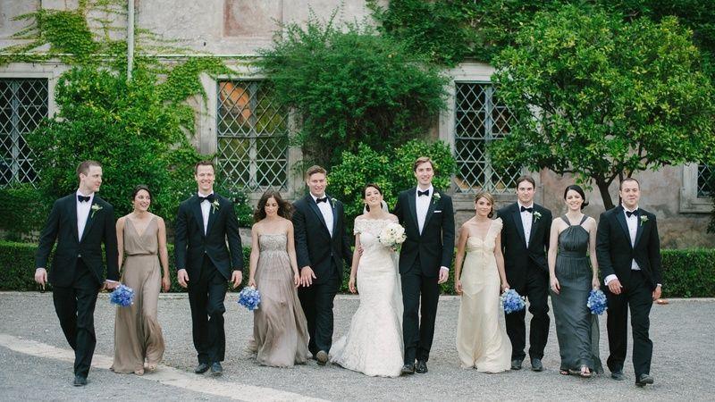 D0ec9d4a4ddb8585fcda959a6627865a Jpg 800 450 Wedding Inside Mismatched Bridesmaid Dresses Bridesmaid Colors