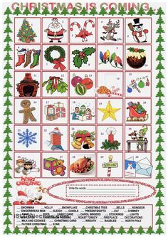 Xmas vocabulary tarjetas pinterest worksheets xmas and this is a worksheet to learn and practise the vocabulary related to xmas students will discover or rediscover the vocabulary by matching the words to the ibookread Read Online