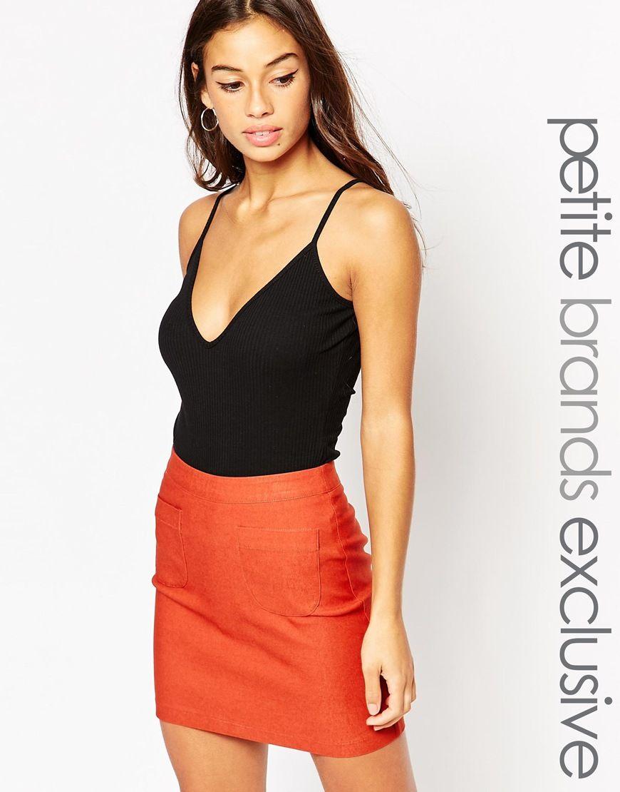 Glamorous+Petite+Ribbed+Basic+Body | Things to Wear | Pinterest ...