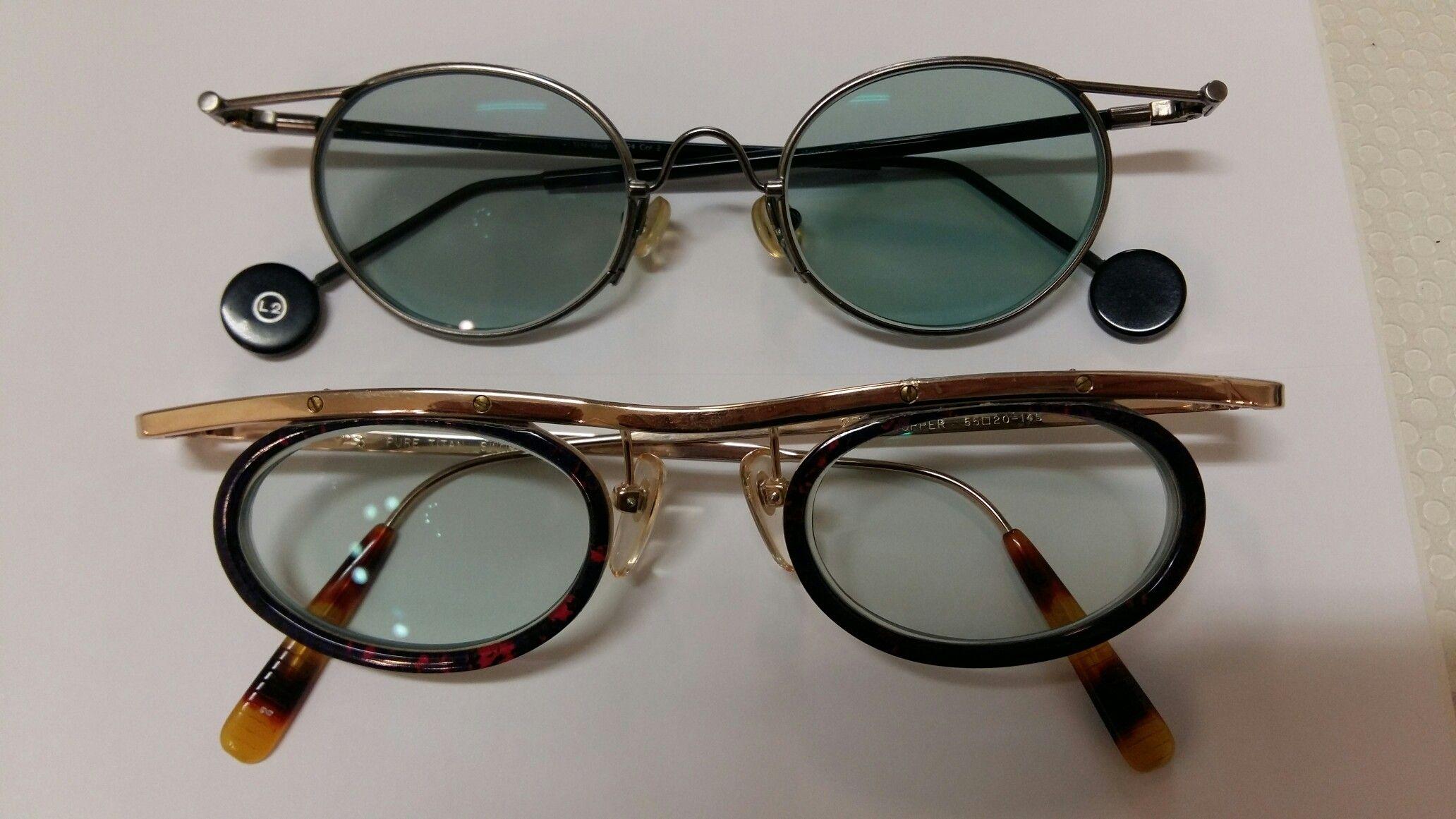 Brillen aus den 90er Jahren mit selbst tönenden Gläsern von ...