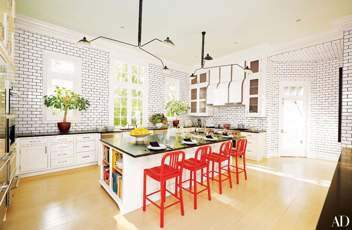 Kitchen Designers Houston Simple Home Décor Trends  Black And White Houston Kitchen With Tile Inspiration Design
