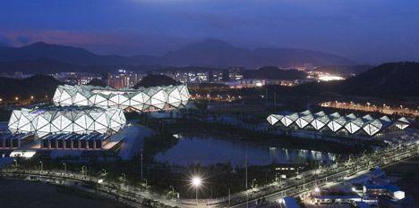 Three Stadiums By Gmp Architekten For The Universiade 2011 In Shenzhen Swimming Pool Images Stadium Shenzhen