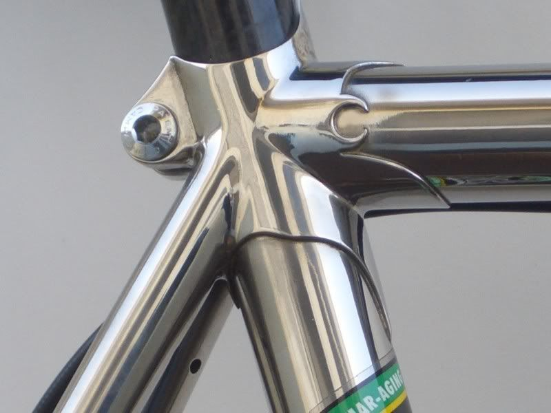 Stainless steel lugged frame | Stainless Steel bicycles and frames ...