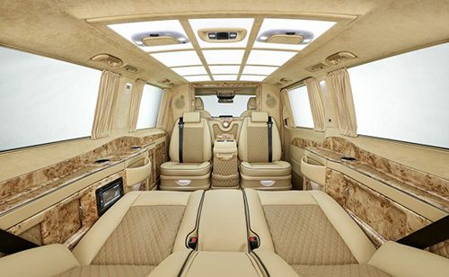 Mercedes V-class phiên bản thương gia - Giá Xe Mercedes Vito | Mercedes Hàng Xanh