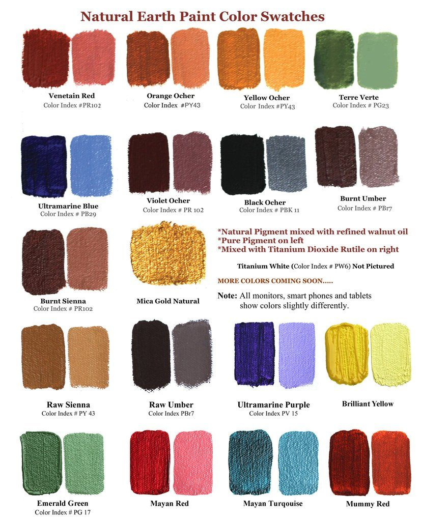 Earth Colors Paint the complete eco-friendly artists oil paint kit | oil, earth