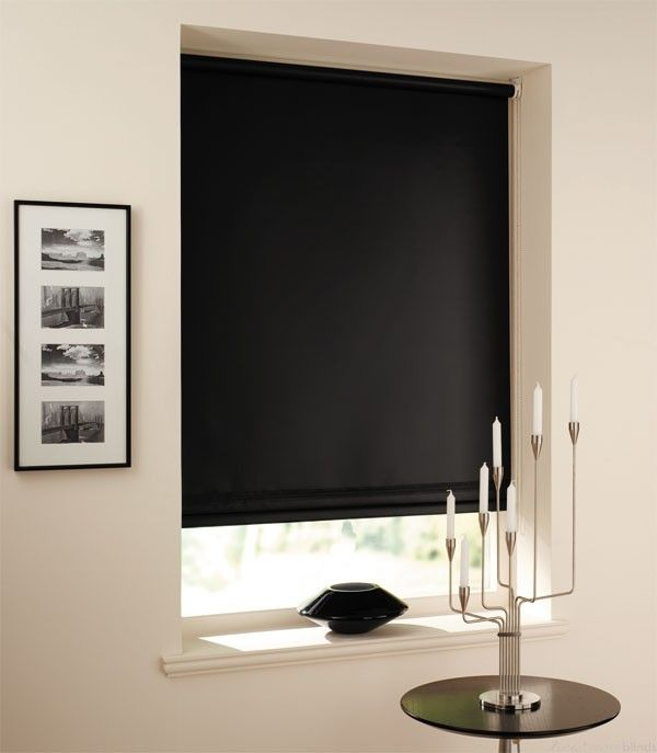 Is Blockout Roller Blind Suitable For Home Curtains With Blinds Shades Shutters Blinds Black Blinds