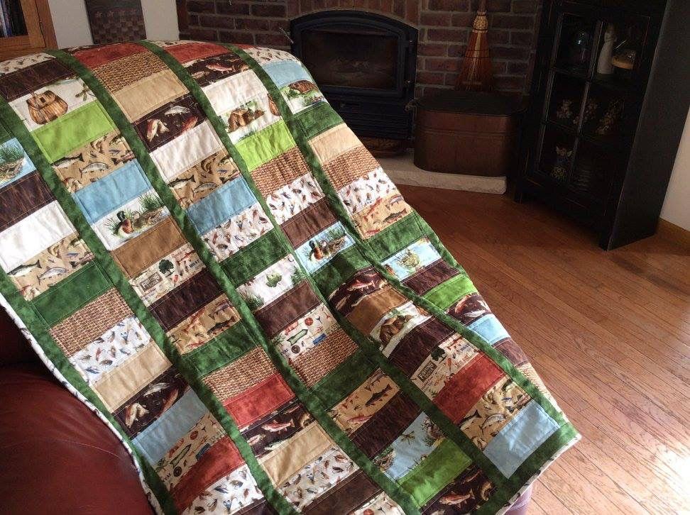 Fishing quilt
