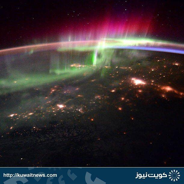 Kuwaitnews كويت نيوز On Instagram صورة نشرتها اليوم وكالة الفضاء الامريكية لكوكب الأرض التقطت من محطة الفضاء الدولي Space Art Instagram Posts Instagram Photo
