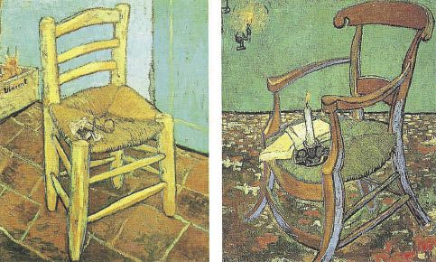 """Van Gogh- """"Silla de Van Gogh y silla de Gauguin"""" (con imágenes ..."""