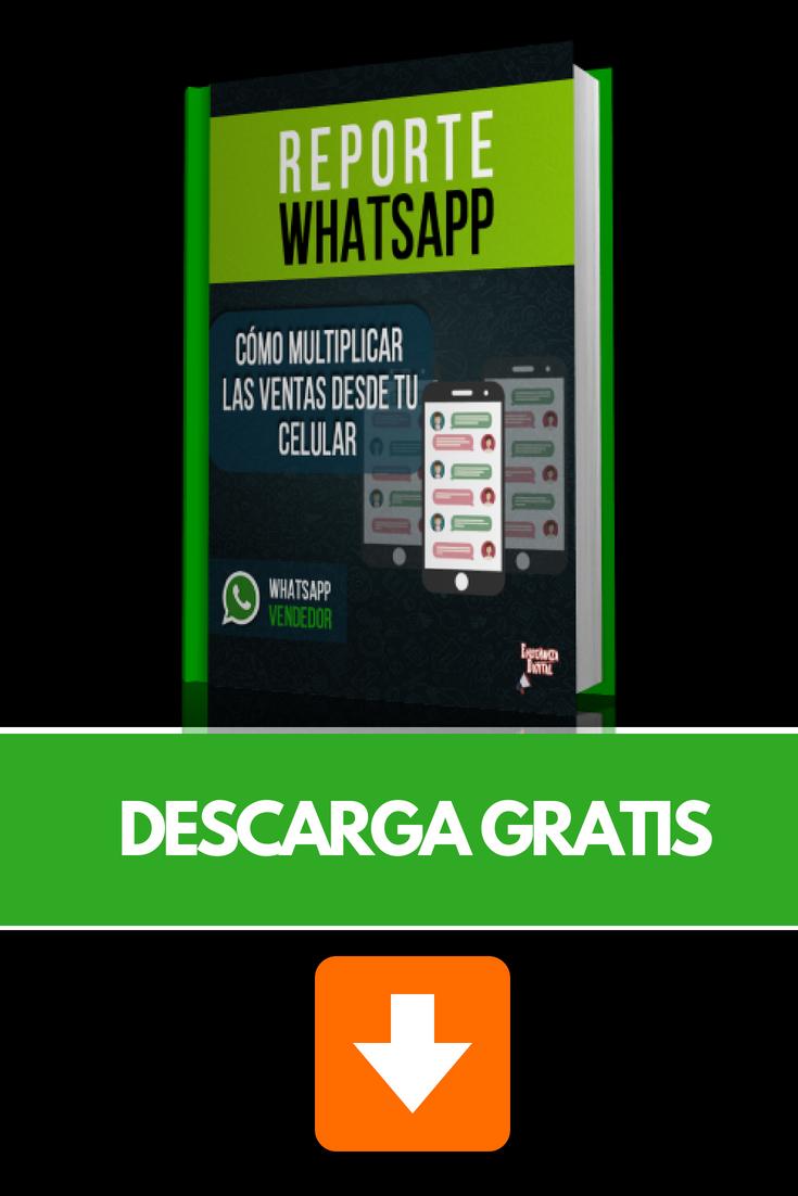 LIBRO DE WHATSAPP GRATIS Descubre cómo vender por