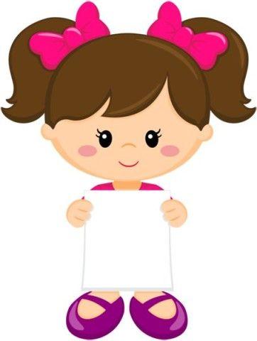 Девочка. Оформление. #картинки_для_детей #журнал_для ...
