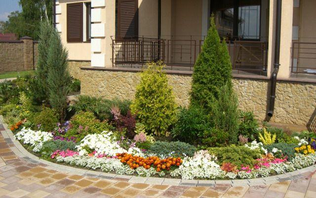 Озеленение дачного участка: фото красивого озеленения, как ...