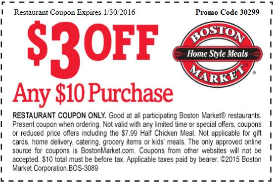 Boston on Sale