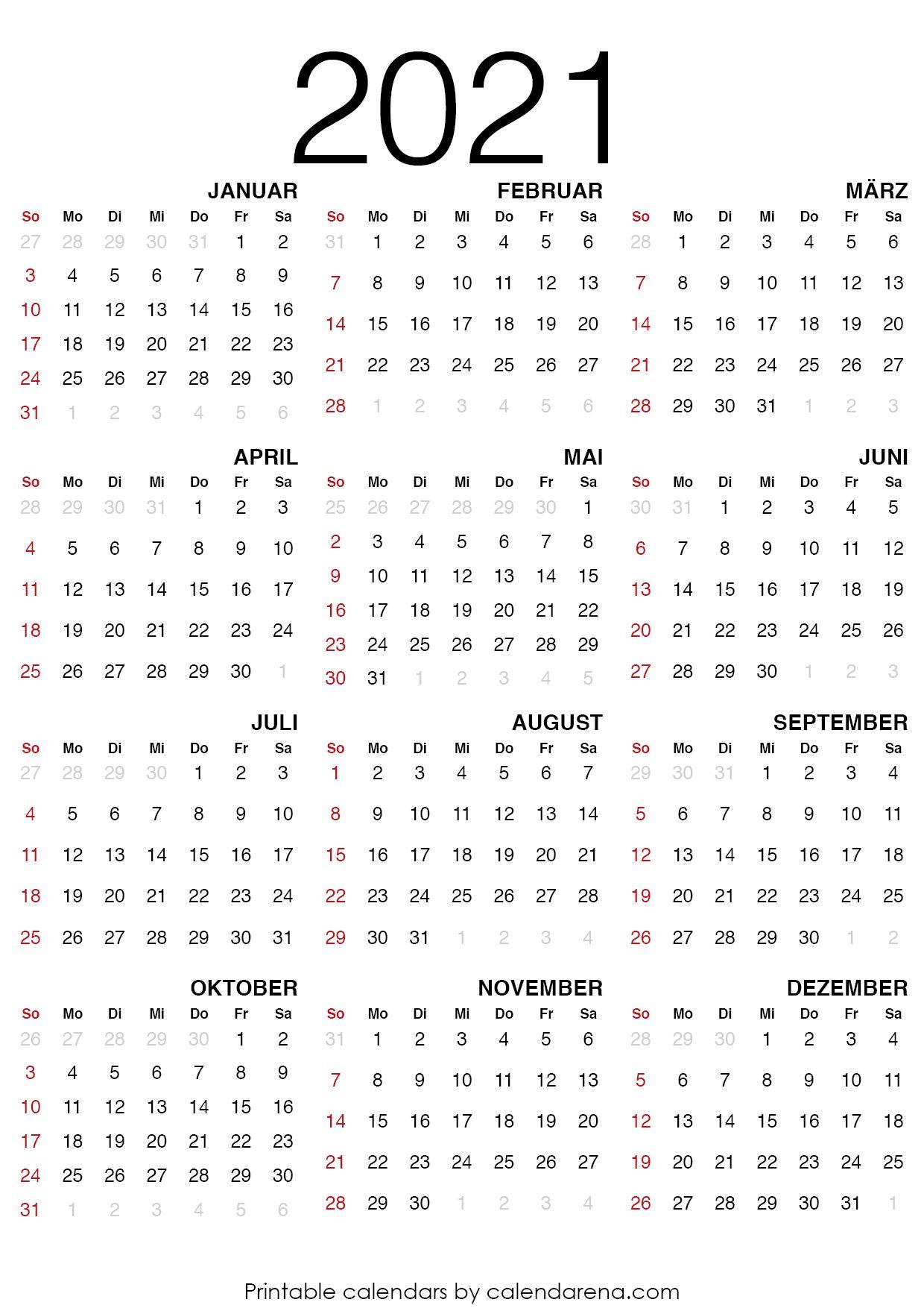 20 Kalender leerer Kalender   Calendar printables, Printable ...