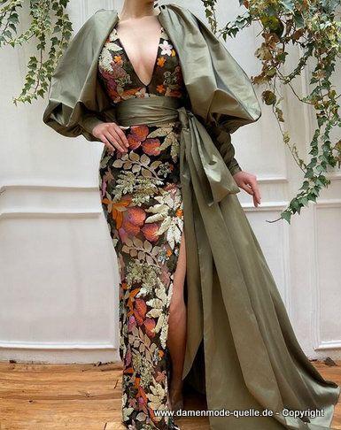 - Kleider 2020 | Pailletten Meerjungfrau Abendkleid 2020 ...
