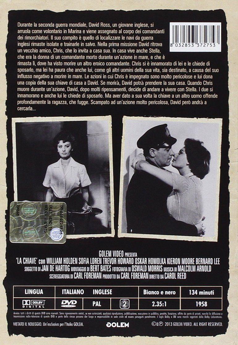La Chiave 1958 Italia Dvd Chiave La Dvd Italia