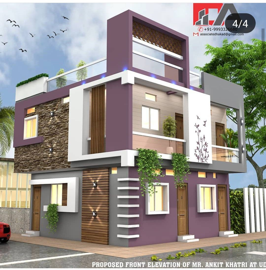 Pin By 3006 On Duplex House Design