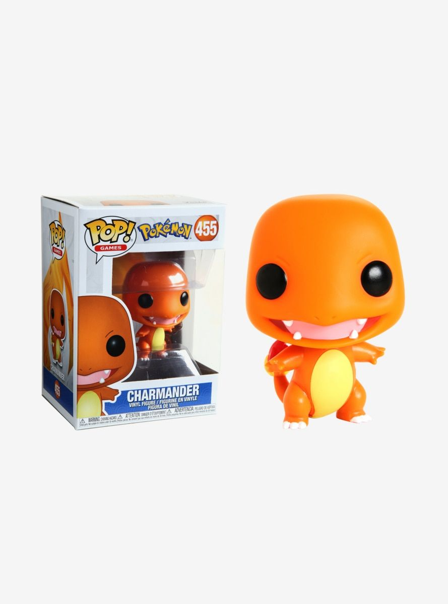Pokemon Charmander Pop Vinyl Figure ***JUNE PRE-ORDER***