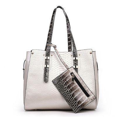 Luxury Serpentine Women Handbag Set