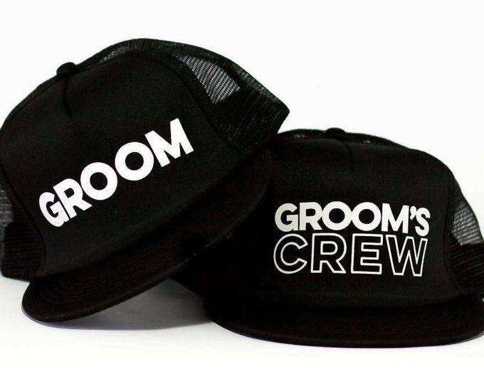 Groom Trucker Hat | Grooms Crew Trucker Hat | Bachelor Party Hats (scheduled via http://www.tailwindapp.com?utm_source=pinterest&utm_medium=twpin&utm_content=post180992007&utm_campaign=scheduler_attribution)