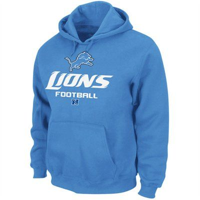 Detroit Lions Light Blue Critical Victory V Hoodie Sweatshirt  bc4624921